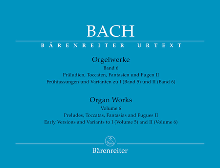 Organ Works, Volume 6