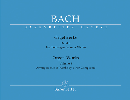 Organ Works, Volume 8