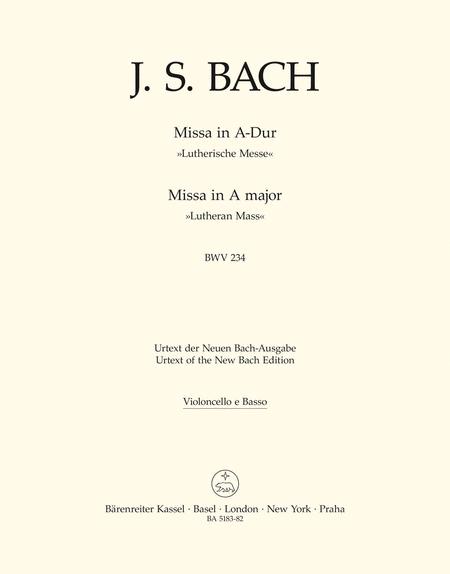 Mass in A major BWV 234 'Lutheran Mass 2'