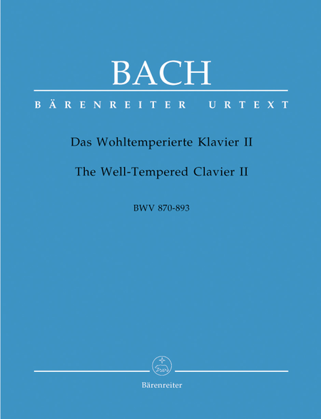The Well-Tempered Clavier, Book II