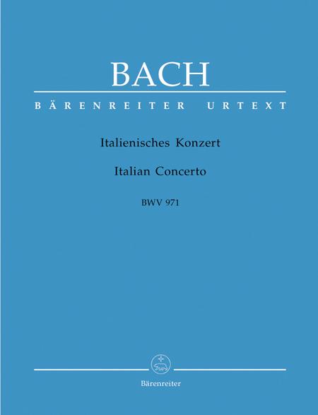 Italian Concerto F major BWV 971