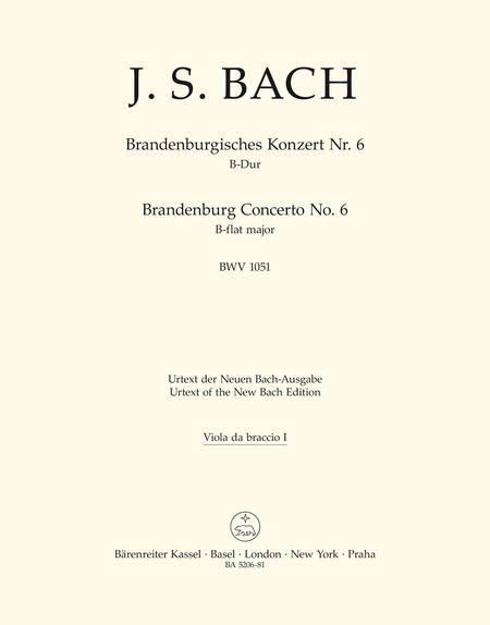 Brandenburg Concerto, No. 6 B flat major, BWV 1051