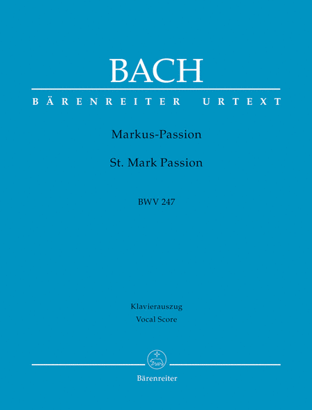 St. Mark Passion, BWV 247