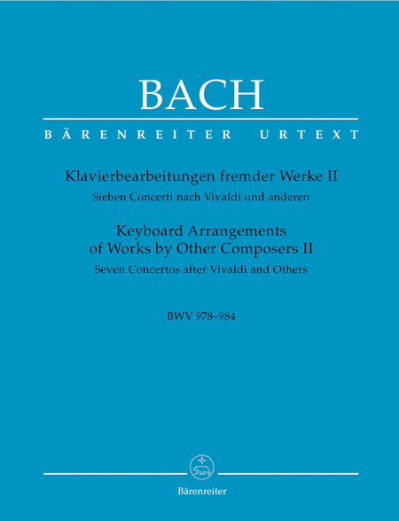 Keyboard Arrangements Of Works By Other Composers, Volume II