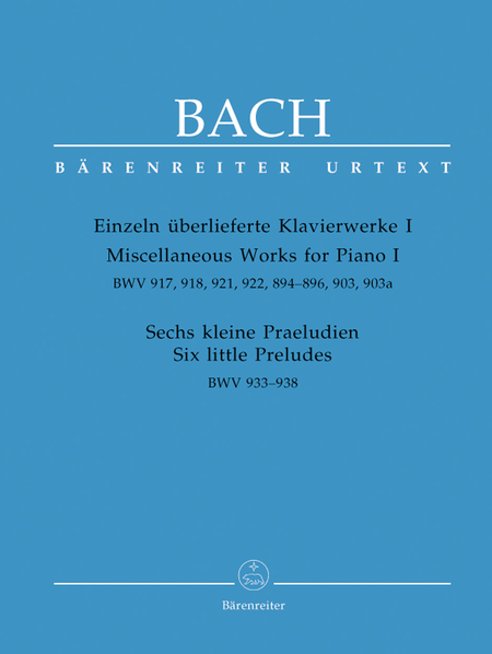 Miscellaneous Works For Piano, Volume I