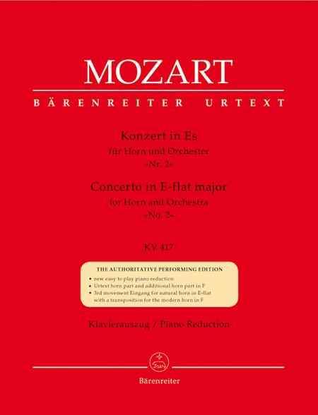 Concerto for Horn and Orchestra No. 2 E flat major KV 417