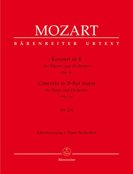 Concerto for Piano and Orchestra, No. 6 B flat major, KV 238