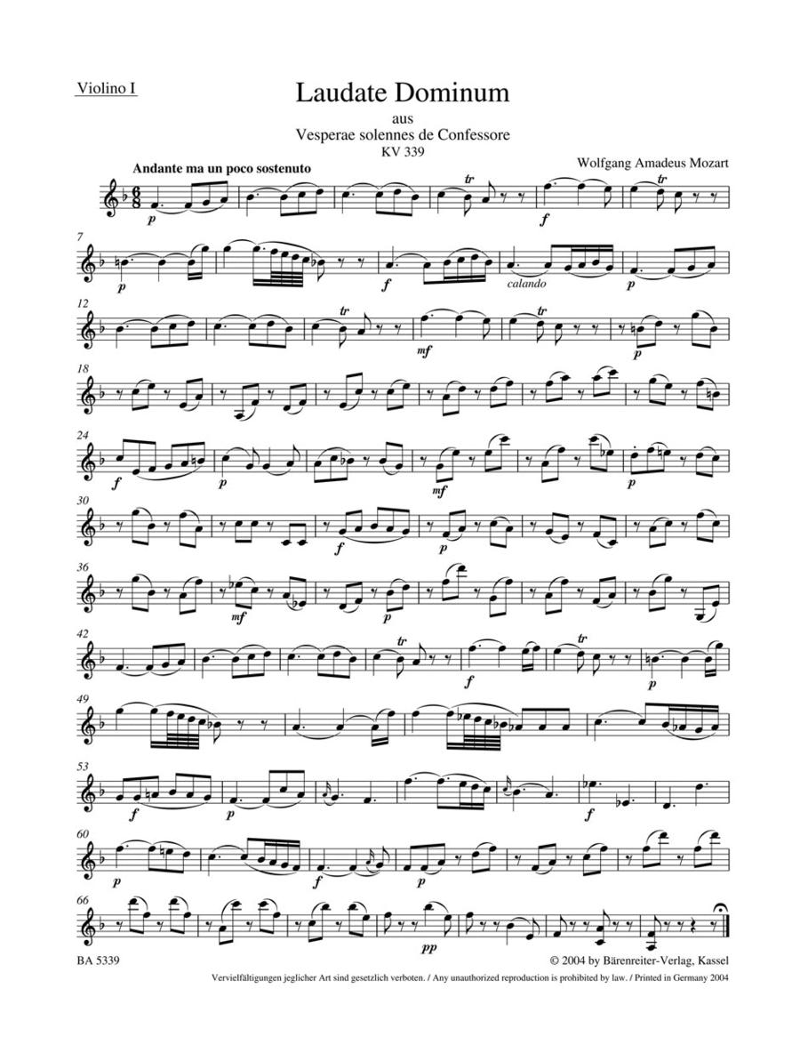 Laudate Dominum, KV 339