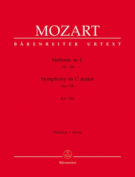 Symphony, No. 34 C major, KV 338