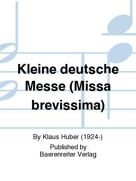 Kleine deutsche Messe (Missa brevissima)