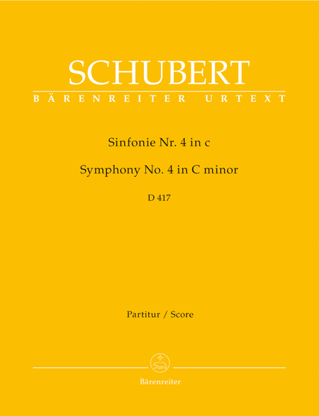 Symphony, No. 4 c minor D 417 'Tragic'