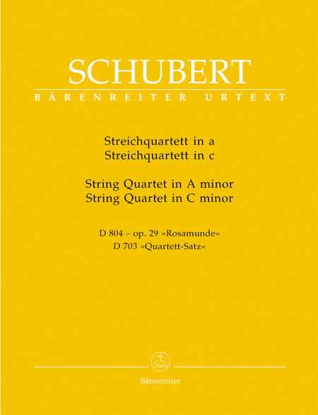 Two String Quartets - A Minor