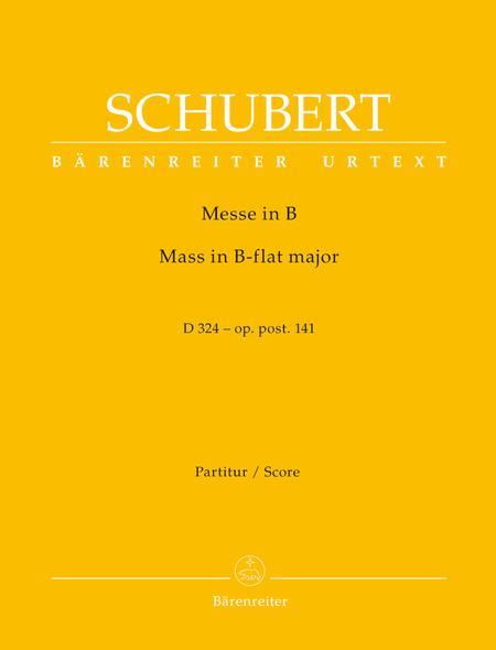 Missa B flat major, Op. post.141 D 324