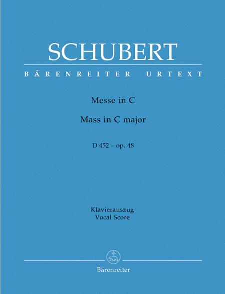 Mass in C major, Op. 48 D 452