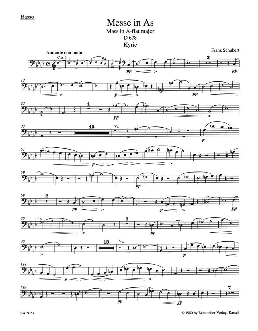 Missa A flat major D 678