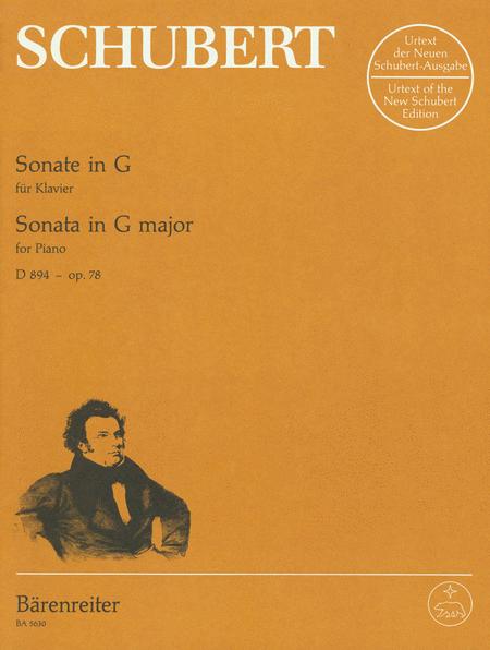 Sonata In G Major, D 894 (Opus 78)