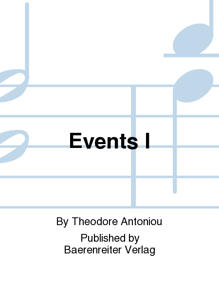 Events I
