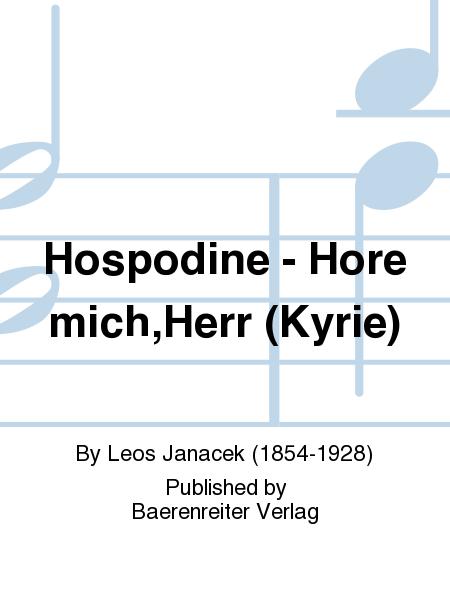 Hospodine - Hore mich,Herr (Kyrie)