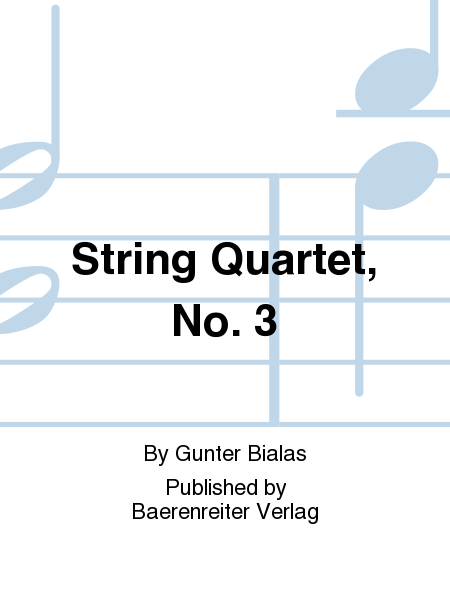 String Quartet, No. 3