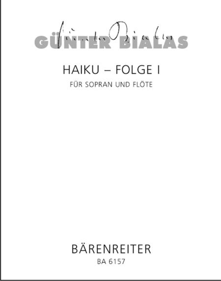 Haiku-Folge 1 for Soprano and Flute