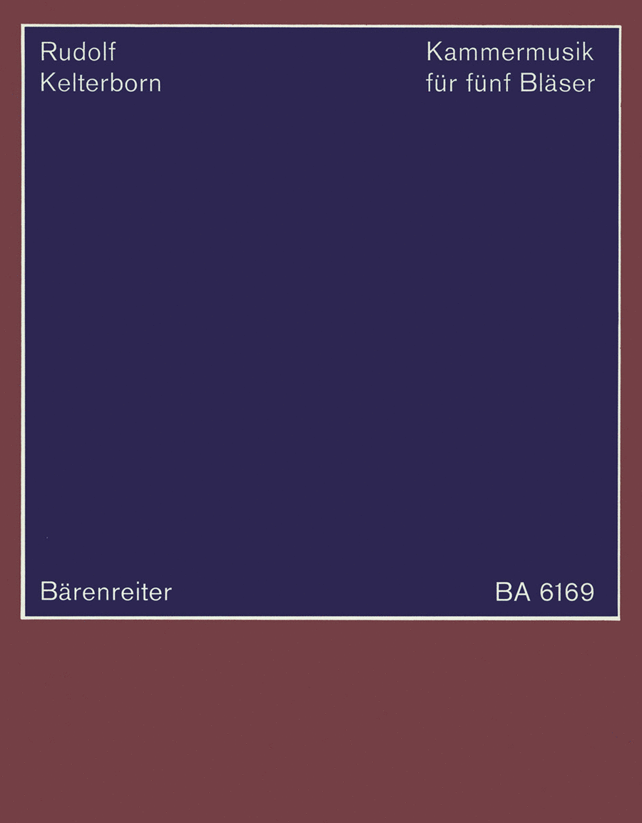Kammermusik for five Wind Players