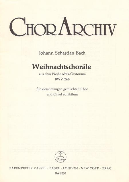 Weihnachtschorale aus dem Weihnachts-Oratorium BWV 248