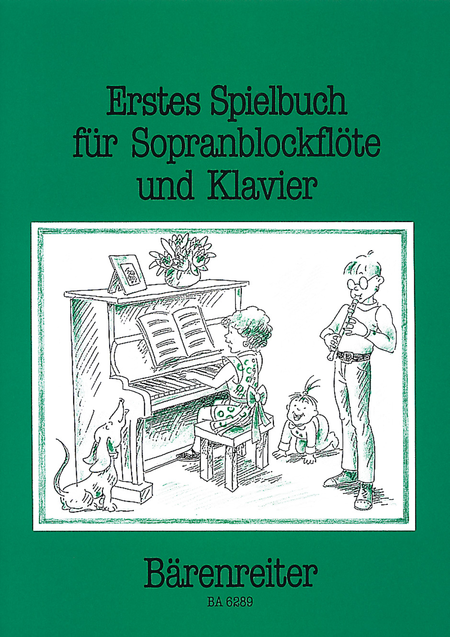 Erstes Spielbuch for Descant Recorder and Piano