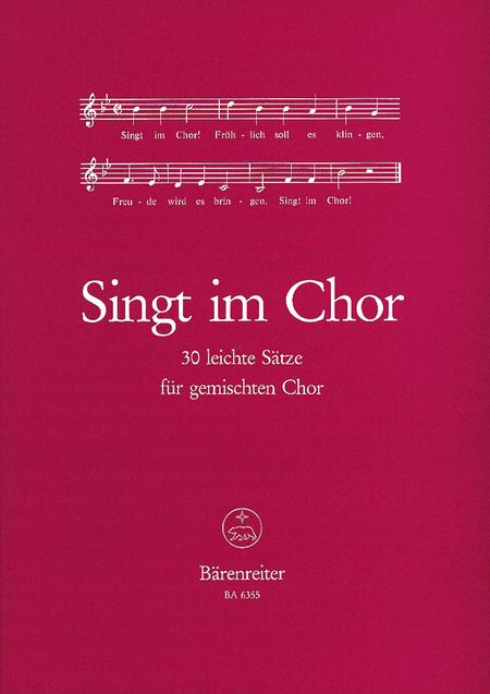Singt im Chor