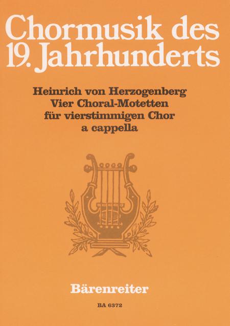 Vier Choralmotetten
