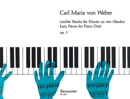 Leichte Stuecke for Piano (four hands) op. 3