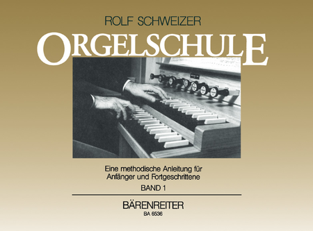 Orgelschule, Band 1