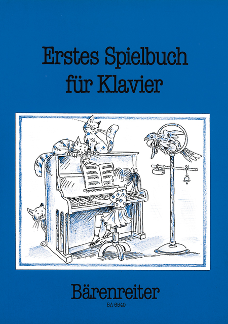 Erstes Spielbuch for Piano (two and four hands)