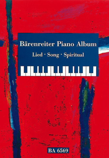 Barenreiter Piano Album. Lied / Song / Spiritual