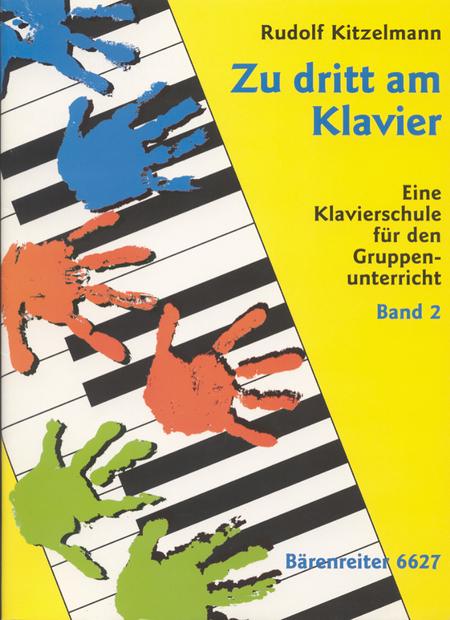 Zu dritt am Klavier, Band 2