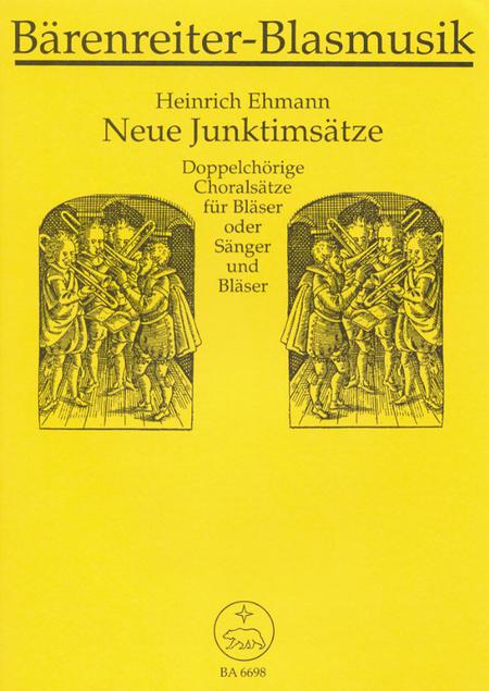 Neue Junktimsatze zu bekannten Chorsatzen vornehmlich des 17. Jahrhunderts mit Hinweisen auf 4stimmige Choralsatze im EG