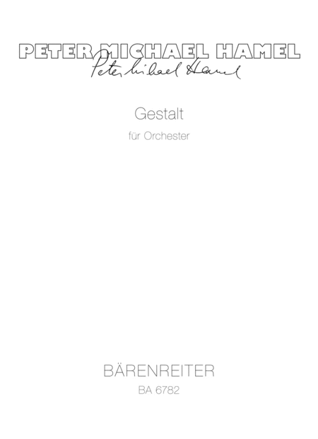 Gestalt for Orchestra