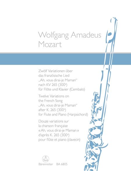 Zwolf Variationen uber das franzosische Lied