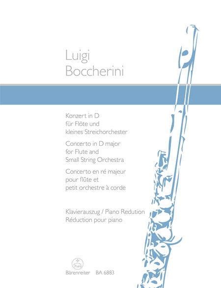 Concerto for Flute and Strings D major, Op. 27