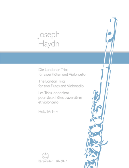 Les Trios londoniens for two Flutes and Violoncello Hob. IV: 1-4