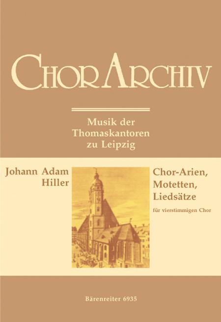 Chor-Arien, Motetten und Liedsatze