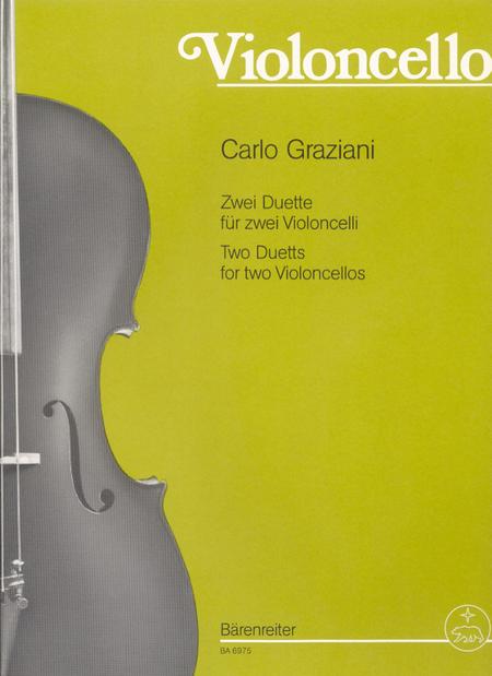 Zwei Duette for Violoncellos