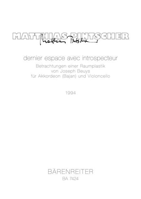 dernier espace avec introspecteur - Betrachtung einer Raumplastik von Joseph Beuys