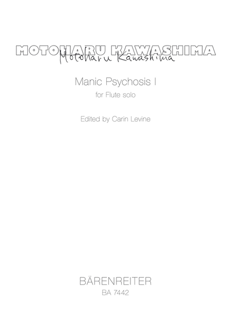 Manic Psychosis I for Flute solo
