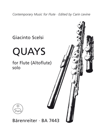 Quays for Solo Flute (Treble Recorder)