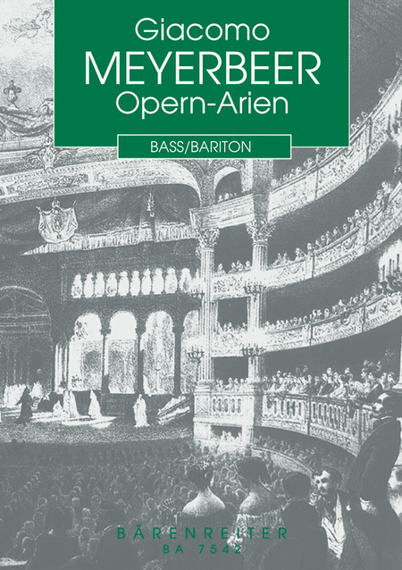 Opern-Arien for Bass/Bariton