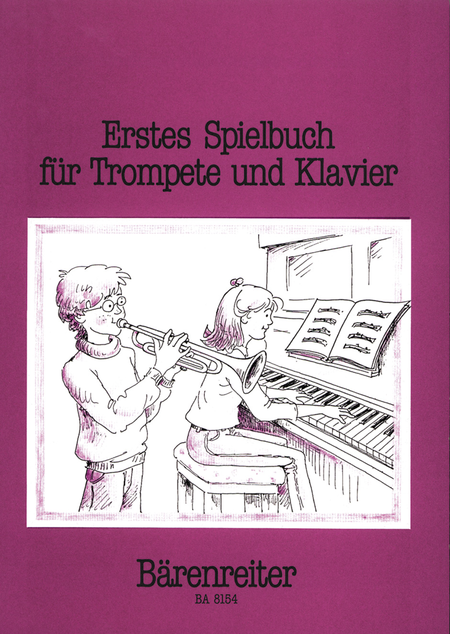 Erstes Spielbuch for Trumpet and Piano