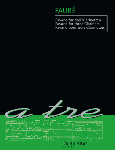 Pavane for three Clarinets