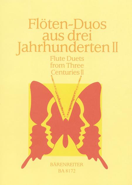 Flotenduos aus drei Jahrhunderten. Heft 2