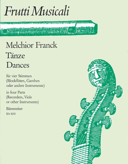 Dances for four Voices
