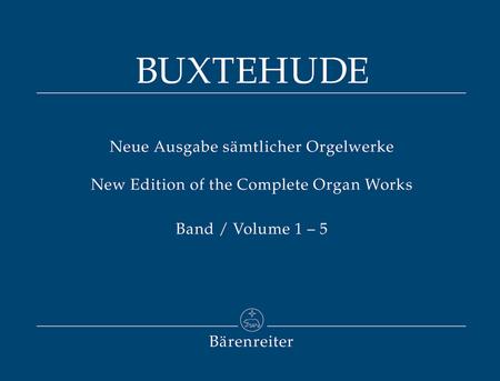 Neue Ausgabe samtlicher Orgelwerke, Band 1-5 komplett